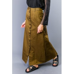 Skirt Military green Twinset Woman 46