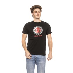T-shirt Black Roberto Cavalli Man