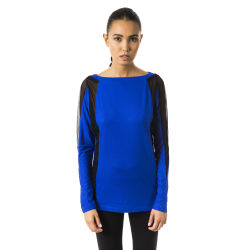 T-shirt Blue Byblos Woman