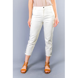 Trousers Beige Twinset Woman 26