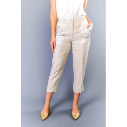 Trousers Beige Twinset Woman 42
