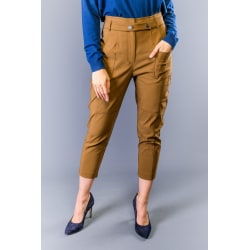 Trousers Brown Twinset Woman 44