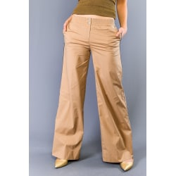 Trousers Brown Twinset Woman UK 14 - XL