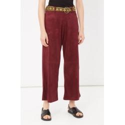 Trousers Burgundy Please Woman XXS