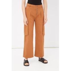 Trousers Orange Please Woman XXS