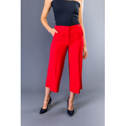 Trousers Red Twinset Woman 42