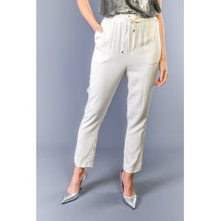 Trousers White Twinset Woman 44