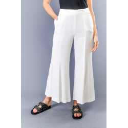 Trousers White Twinset Woman UK 14 - XL