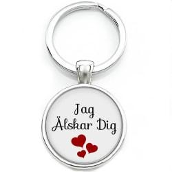 Nyckelring Alla hjärtans dag Jag älskar dig