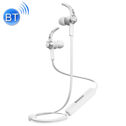 Baseus B11 Licolor magnetiska Bluetooth In-Ear lurar vit Vit