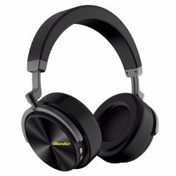 Bluedio T5  Bluetooth 4.2 ANC Hörlurar Svarta Svart