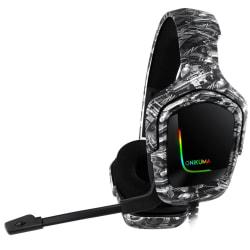 ONIKUMA K20 Gaming Headset med mikrofon GraphiteGrey