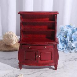 1:12 Dollhouse Miniature Furniture Cabinet Cupboard Dolls House Brown