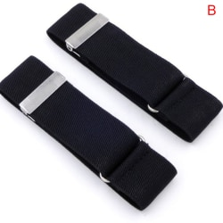1 par herrskjorta justerbar armband ärm Garter Bartender Cuf