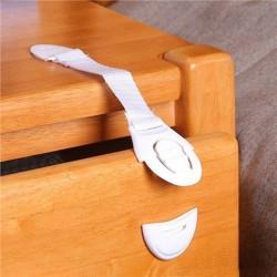 10 PCS Safety Child Infant Baby Kids Drawer Door Cabinet Cupboar White