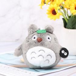 1Pc 10cm Totoro Plush Toy kawaii Anime Totoro Keychain Toy Stuf