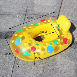 1pc Uppblåsbar simring Pool float Babyring Uppblåsbar Ma