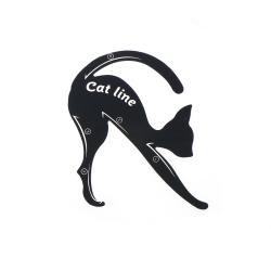 2Pcs/Set New Cat Line Eye Makeup Tool Eyeliner Stencils Templat 1 set