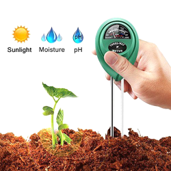 3in1 Soil Water Moisture PH Meter Test Garden Plants Tester Tes