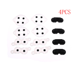 4 Sets Replacement Silicone Conductive Buttons Pads For Nintend