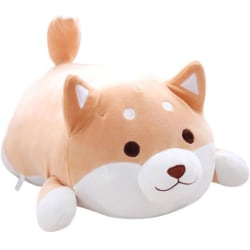 40CM Cute Fat Shiba Inu Corgi Doll Pillow Dog Plush Toy Stuffed Brown