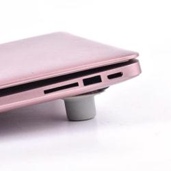 4PCS/Set Hot Selling Notebook Accessory Laptop Heat Reduction Pa Gray
