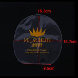 4pcs Transparent Table Tennis Rubber Protection Film Ping Pong R Transparent