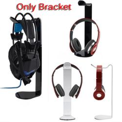 Acrylic Headphone Display Stand Holder Rack Earphone Headset Ha Black