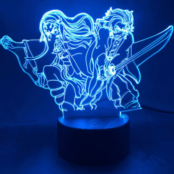Anime Kimetsu No Yaiba Nezuko Kamado Figure Led Night Light for KX-1983