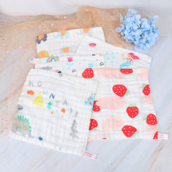 Baby Face Towel 6 layers Muslin Cotton Soft Towels Handkerchief