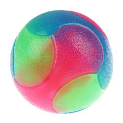 Bitresistent glödande elastisk boll Hållbar blinkande molarboll