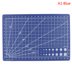 Cultural and educational tools A4A5 double-sided cutting pad ar 1(A5 Blue)