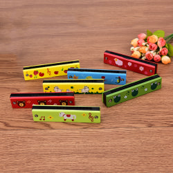 Cute Tremolo Harmonica 16 Holes Kids Musical Instrument Educati
