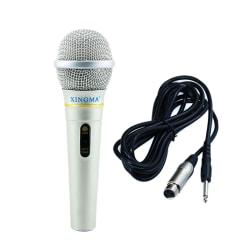 Dynamic Microphone Professional Wired Handheld Karaoke Studio Fo one size
