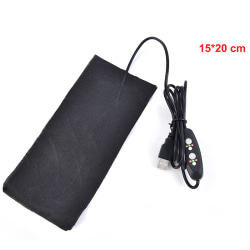 Electric Heating Pads Cloth Heater Pad Winter Waist Abdomen Cus Black