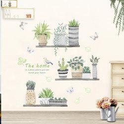 trädgårdsväxt bonsai blomma fjäril väggdekaler heminredning r