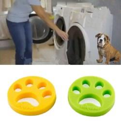 Hårborttagningsborste för tvätt Husdjur Katt Lint Hundhårfångare Fo Yellow
