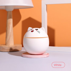 Home Air Humidifier Cute Cat Diffuser Purifier Aromatherapy Car White