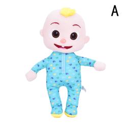 HOT Cocomelon JJ''s Family Educational Plush Stuffed Doll Toys  26cm baby