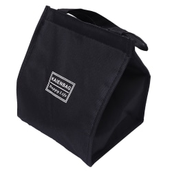 Lunch Bag Simple Waterproof Insulated Large Adult Lunch Tote Bag Black