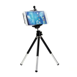 Mini 360°Fashion Rotatable Stand Tripod Mount + Phone Holder Br