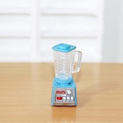 Mini Electric Juicer Resin Model Toy Dollhouse KitchenFurniture Blue