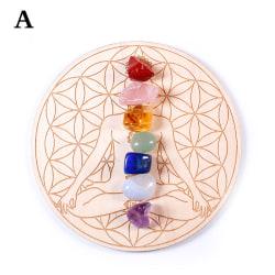 Natural Crystal Mixed Seven Chakra Healing Stone Seven Star Arra