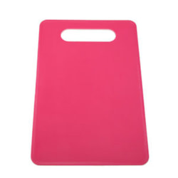 Non Slip Plastic Chopping Mat Vegetable Fruit Cutting Board Kit Red
