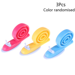 Rubber door stopper stop wedge security snail gates protection b 3Pcs