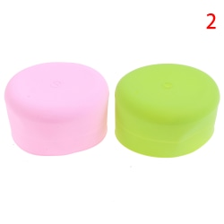 Silicone Spill-Proof Sippy Cup Straw Lids Glassware Lid Cup Cov N2
