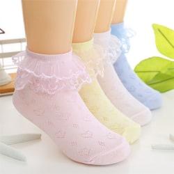 Summer Baby Girls Toddler Cotton Lace Ruffle Princess Mesh Strumpa