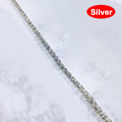 sommar sexig rad metall lår ben kedja kroppsmycken strand armband Silver
