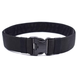 Tactical Military Canvas Belt Men Outdoor Practical Camouflage  Black