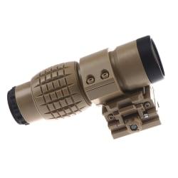 Taktisk Red Dot Sight Sight 3X förstoringsglas för FTS flip för sida
